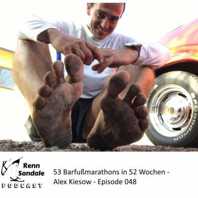 53 Barfußmarathons in 52 Wochen - Alex Kiesow - RS-ep048