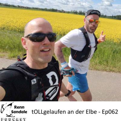 tOLLgelaufen an der Elbe