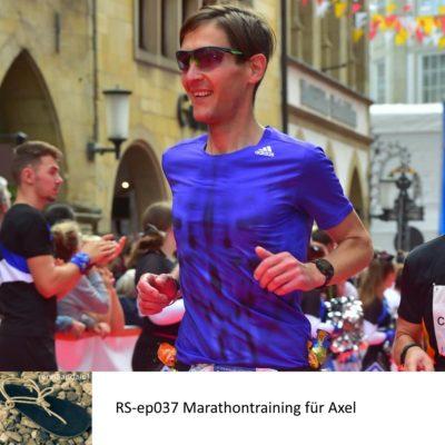 Marathontraining für Axel – RS-ep037